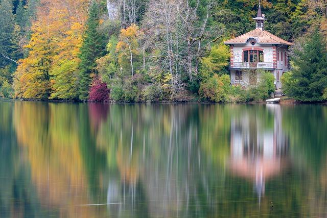 nieruchomości nad jeziorem